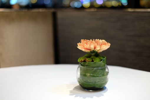 The table flower